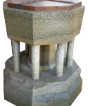 Norman Font of Purbeck marble