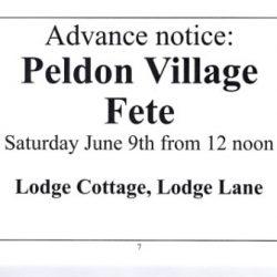 2018 Peldon fete prelim advert - cropped & compressed