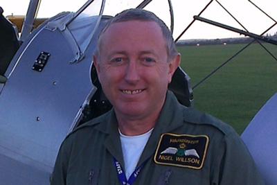 Pilot Nigel Willson