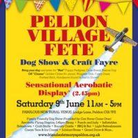 Peldon Village Fete 2018