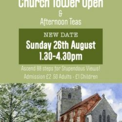 Peldon Church Tower Poster 2018_A4 JPG - compressed & cropped