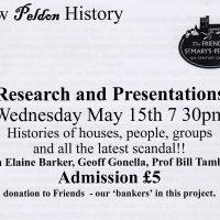 Advert for Peldon history evening_20190509_0001